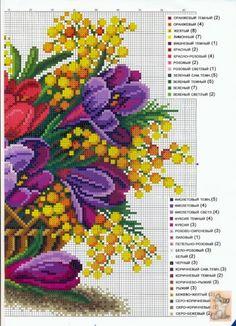 Cesta de Flores 2