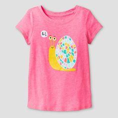 19f478a8b6b Toddler Girls  T-Shirt Bali Cat  amp  Jack™ - Pink   Target