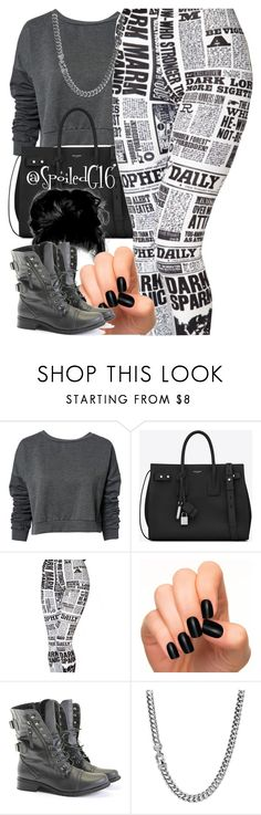 """""""Extra Extra!"""" by spoiledg16 ❤ liked on Polyvore featuring ONLY, Yves Saint Laurent, Incoco, Rocio and David Yurman"""