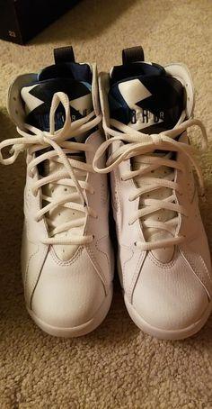6f47b1d6d1 Jordan Retro 7 French Blue GS 6.5  fashion  clothing  shoes  accessories
