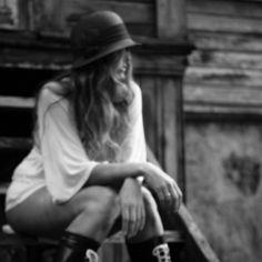 """Title: """"waiting""""  Photographer: Ingrid Himberg  Model: Liv-Unni Tveitane"""