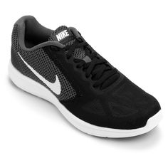 c8f25ae372 Tênis Nike Revolution 3 Preto e Cinza