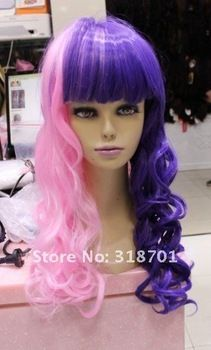 long curly Cosplay Wigs