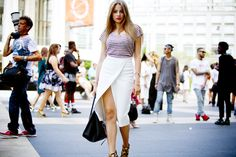 They Are Wearing: New York Fashion Week - Another pretty outfit
