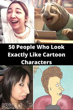 And some of our absolute favorite characters are based on people in real life. And some people just end up looking like our favorite characters our of coincidence. It's pretty crazy.