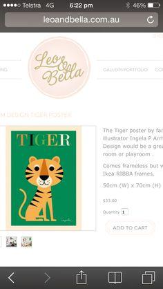 Tigre poster