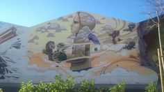 Grafiti en Málaga BoulevArt #ArteUrbano