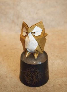 OrigamiOwl (Designed by Roman Diaz) by Lonely-Shiba