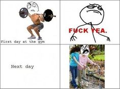 Going to gym ...