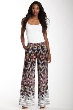 Lavender Brown Palazzo Pant--I really like these, but not being very tall, nor quite as lean, I don't think they would really flatter me, especially my short legs!
