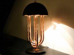 CANDEEIRO DE MESA DE LATÃO TURNER BY DELIGHTFULL  #Architonic #lamps #vintage #vintagelamps