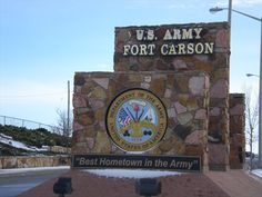 Ft. Carson, CO  Our soon to be new home...away from home! SO many emotions about beginning our new chapter in life!