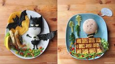 Essa mãe transforma a comida de seus filhos em incríveis pratos artísticos. Vale a pena dar uma olhada!