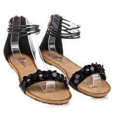 Ploché sandále na leto WL154B