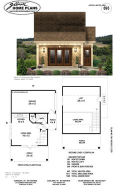 Garage Floor Plans, Pool House Plans, Tiny House Plans, Bungalow, Small Pool Houses, Backyard Cottage, Backyard Pool Landscaping, Landscape Plans, Garage House