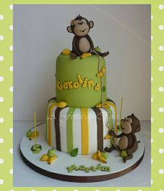 Little monkeys cake