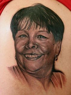 Portrait Tattoo From Mi Familia Studio