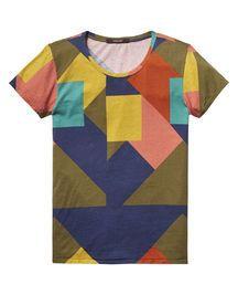 Cubist Artwork T-Shirt