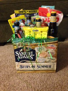 Life is a highway date night basket giveaway basket ideas easter mens easter basket negle Image collections