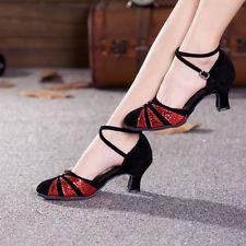 Women's Ballroom Latin Salsa Tango Dance Shoes Closed Toe Dancing Shoes