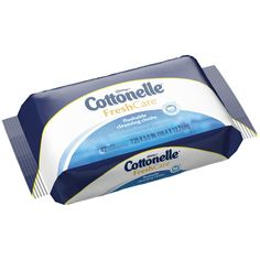 Cottonelle Fresh Care Flushable Cleaning Cloths Pop-Up Refill Pouch, 42 Count
