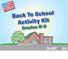 Back To School Activity Kit, Grades K-2 - SMART Notebook lesson containing fun activities for students and teachers to use upon starting a new school year  Resource type: SMART Notebook lesson  Subject: Mathematics,  Social Studies,  Health and Physical Education,  Geography,  Art and Design,  Citizenship,  Special Education,  Music,  Science,  English Language Arts,  ICT,  History  Grade: Kindergarten,  Grade 1,  Grade 2