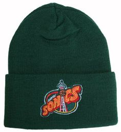 Vintage High-Bulk Seattle Sonics Green Cuff Beanie by NBA. $17.46. Made of High Bulk Acrylic. One Size Fits Most (OSFM). Color: Green. Vintage Deadstock (meaning these won't be printed again). Not Recommended For 7 5/8 or Larger Headsize. NBA Cuff Beanie. GET YOUR SWAG ON WITH GreaterGear!