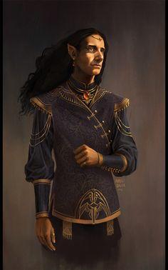 m High Elf Bard city lwlvl Elves Fantasy, Fantasy Male, High Fantasy, Fantasy Warrior, Medieval Fantasy, Character Portraits, Character Art, Character Design, Character Ideas