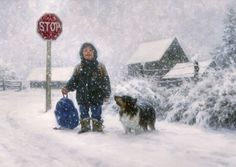 Catching Snowflakes by Robert Duncan