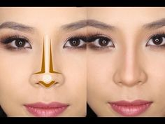 How to Make a Long Nose Appear Smaller and Thinner