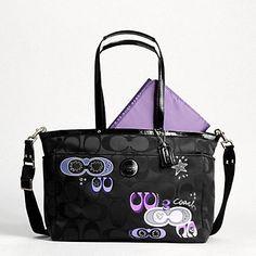 Coach diaper bag on Courtney's wish list ....