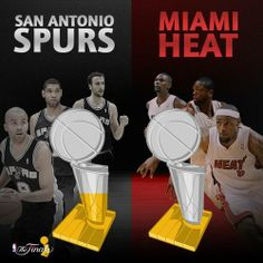 The San Antonio Spurs are just two wins away from their 5th NBA title, but can the Miami Heat once again halt their Championship dreams?