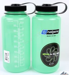 Glow in the dark Nalgene bottles.