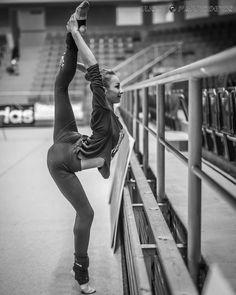 Viktoria Mazur (Ukraine), backstage Grand Prix (Brno) 2016