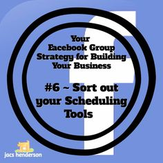 FACEBOOK GROUP STRATEGY # 6 ~ Sort out your scheduling tools  Once you have written some content and created or found an image, you need to form a Post to share on social media  It is a tremendous idea to use a scheduling tool for posting. ... See more