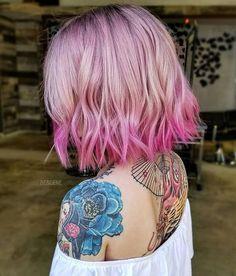 Modern Pink Melt  and Cut by @bescene