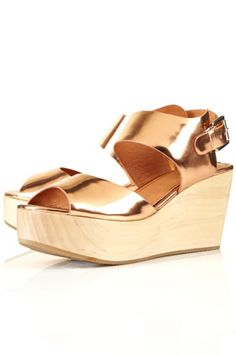 Molten! Also a surprisingly sensible platform shoe.