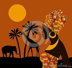 African Women Illustrations Stock Photos, Images, & Pictures - 248 Images