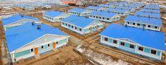 함북도 북부피해지역의 1만 1, 900여세대 살림집건설 50여일만에 완공, 수십개의 새 거리, 새 마을 형성-《조선의 오늘》
