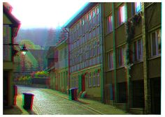 Blankenburg in the Harz Mountains 3D ::: DRi Anaglyph Stereoscopy by Stereotron, via Flickr