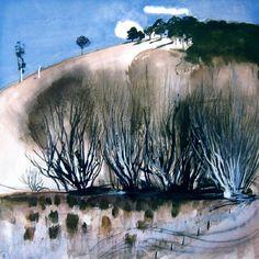 The hillside - brett whiteley