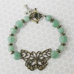 Jessica's Butterfly Bracelet Project | Auntie's Beads