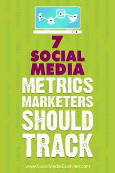 By defining and tracking a few key data points, you can determine whether your marketing is on target.In this article, youlldiscover seven social media metrics to help you gauge your marketings effectiveness. #socialmedia