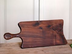 Walnut French Style Breadboard  Cheese Board  by CattailsWoodwork, $55.00
