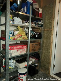 Tips For Organizing Storage Shelves