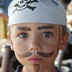 Como Maquillarse de Piratas