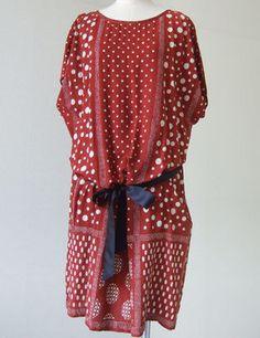 Dots dress / ShopStyle: [pas de calais]レーヨンドットプリントワンピース