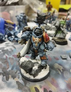 Post with 22 votes and 2182 views. Shared by Wolf Lord in Gravis Armour Warhammer 40k Space Wolves, Warhammer 40000, War Hammer, Warhammer 40k Miniatures, Space Marine, Marines, Armour, Infinity, Modeling