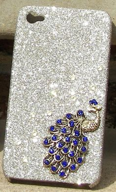OOOOOH MY GOSH!! I want this! Peacock AND Glitter!? I bet they made this just for my liking.@Cecelia Ann