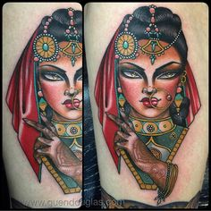 Indian inspired tattoo